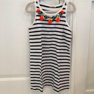 J. Crew Crewcuts Girls Stripe Dress 6